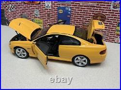 1/18 GMP 2005 GTO 6.0 LItre YELLOW VERY RARE, Used Store Display Bad Box