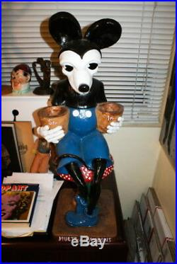 1930s FRENCH MICKEY MOUSE STORE DISPLAY FIGURE SUPER RARE
