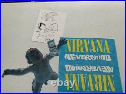 1991 NIRVANA Cobain Nevermind Rare Unused Promo Mobile Store Display Original