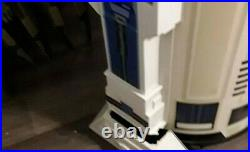 2 Life Size R2-D2 Star Wars Coolers store display Rare