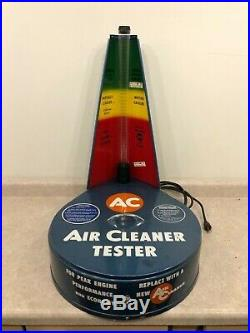 AC-Delco Vintage NOS Air Cleaner tester Super Rare Cool NEW OLD STOCK GM COOL
