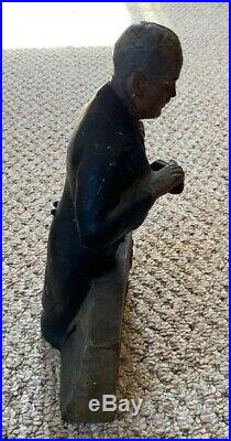 Abotts Aged Bitters Advertising Figure Store Display 1930s Rare Sign