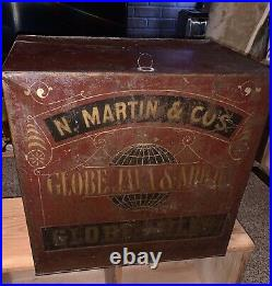 Antique Coffee Tin General Store Display Rare Advertising Late 1800s Rare