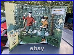 Antique Creek Chub Bait Store Lure Display Famous Pikie Minnow RARE