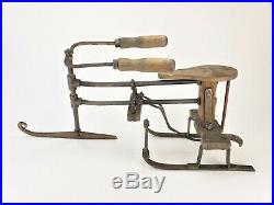 Antique Rare Salesman Sample Ice Sled/Sleigh ca1910