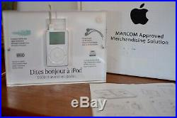 Apple Store Promotional Display RARE Authentic iPod 1st Gen