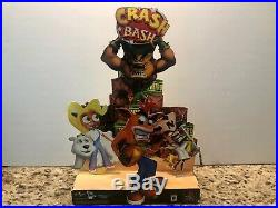 Authentic Crash Bash PlayStation PS1 Store Display Standee Promo 2000 Very Rare
