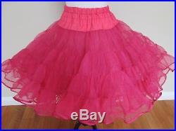 Betsey Johnson Boutique Store Display Decor GIANT Pink Petticoat Tutu Skirt RARE