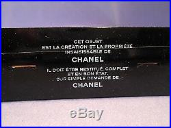 Chanel No 5 Paris Perfume Bottle Store Display Gold Metal Cut-Out VERY RARE