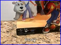 Crash Bandicoot Crash Bash PlayStation 1 Store Display Standee Promo 2000 Rare