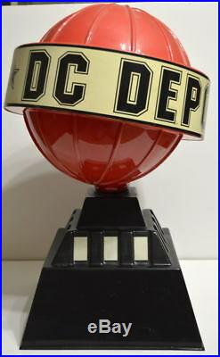DAILY PLANET GLOBE DC Advertising DISPLAY DC DEPOT Retailer ONLY PROMO Rare