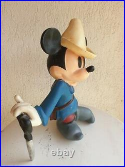 Disney Mickey Mouse little tailor statue store display big mid fig figure rare