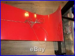 GIGANTIC Nike Swoosh Logo Sign 61 X 14 Store Orange Display Advertising RARE