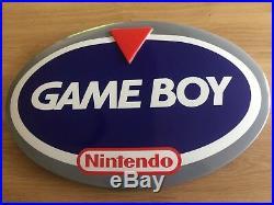 Gameboy Classic Demopod Retro Store Display Advertising Sign Nintendo Super Rare