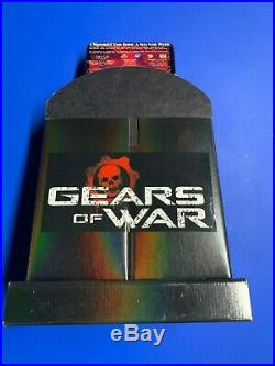 Gears of War Store Display (Limited Edition with Metal Tin) RARE