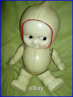 HUGE 1930s, RARE celluloid (plastic) jointed KEWPIE doll, store display by ROYAL