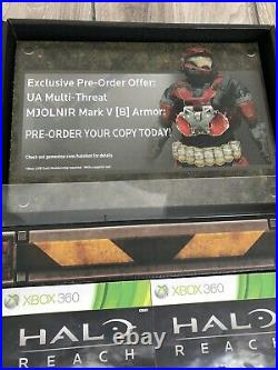 Halo Reach Dimensional Marketing Standee Store Display New Rare