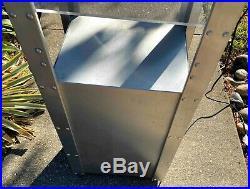 Iconic industrial all metal Oakley case display Aluminium case Rare