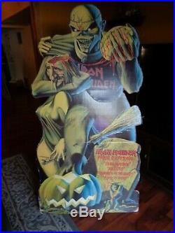 Iron Maiden Piece Offering Rare In Store Eddie Promo Display Standee Stand Up DI
