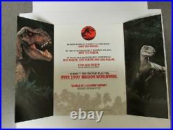 Jurassic Park 1993 Vintage Vhs Store Display Complete Marketing Kit Rare