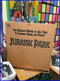Jurassic Park Movie Pop Up Standee Display FACTORY SEALED and super RARE