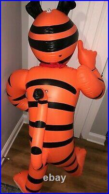 Kellogg's Tony The Tiger Store Display Inflatable Over 5 Feet Rare HTF