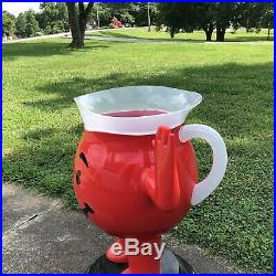 Kool-Aid Man Pitcher Cooler Store Display Rare by Kraft Foods