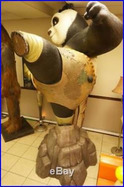 Kung Fu Panda Life Size Statue Movie Store Display Prop Dreamworks Huge Rare