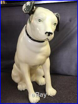 Large 36 Vintage Nipper Rca Victor Dog Rare Store Display Advertising Statue