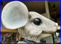 Large Charming Tails Store Display Mouse Statue! RARE! 3 Feet Tall! Awesome
