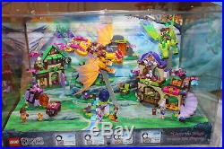 Lego Elves Store Display 41174 41171 41175 41176 41172 5 Sets Lighted Works Rare