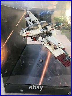 Lego STAR WARS Store Display Rare 2005 Arc 170 (7259) Droid Fighter (8086)
