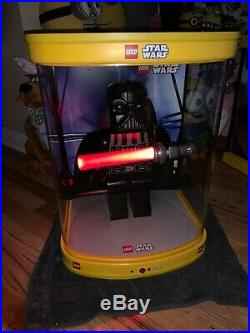 Lego Star Wars Darth Vader 19 Minifigure Store Display Rare