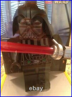 Lego Star Wars Store Display 19 Darth Vader Super Rare Condition 8/10 withCord