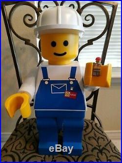 Lego Store Shop Display 19 Inches 48 CM Huge Jumbo Mini Figure Very Rare