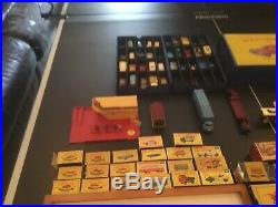 Lesney Matchbox Collection with Rare 1958 Wood Store Display/Vintage Series #1-75