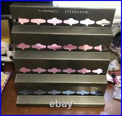 MAC Cosmetics Eyeshadow Store DisplayRAREMetalPlease read