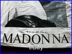 Madonna MEGA RARE 1986 TRUE BLUE Herb Ritts PROMO Big CLOTH STORE BANNER POSTER