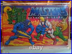Masters Of The Universe Motu Store Display Rare