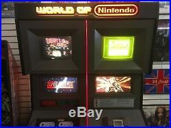 Mega Rare! Super Nintendo Game Boy Store Display Kiosk
