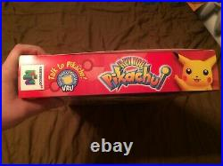 N64 Hey You Pikachu! Promo Store Display Box (Nintendo 64) Rare MINT! Pokemon
