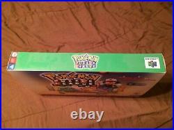 N64 Pokemon Puzzle League Promo Store Display Box (Nintendo 64) Rare MINT