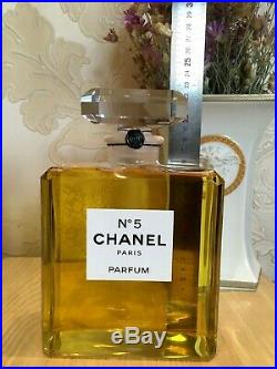 NEW SUPER RARE LARGE FACTICE PARFUM CHANEL 5 STORE DISPLAY BOTTLE 900 ml NO