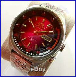 New Ultra Rare Store Display Vintage Orient Double Calendar Watch