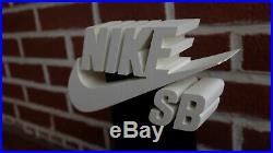 Nike SB retail store display advertisement wooden stand rare dunk 2006 vintage