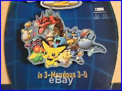 Nintendo 64 N64 Pokemon Stadium 2 Store Display Countertop Standee RARE