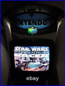 Nintendo 64 Store Kiosk Countertop Display Original N64 Star Wars NFR RARE