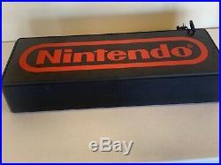 Nintendo Fiber Optic Sign Display (Super Rare)