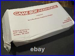 Nintendo Game Boy Advance Hanging Display Icon Sign RARE Retail Kiosk