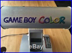 Nintendo Game Boy Color Kiosk Store Display VERY RARE